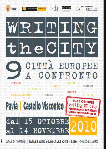 WRITING THE CITY. Nove città europee a confronto